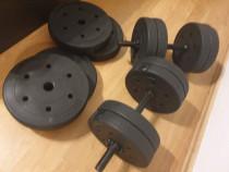 Set gantere reglabile Dayu Fitness 42 kg (21 kg per gantera)