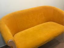 Canapea tapitata foarte cocheta