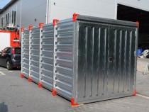 Container: 4m x 2,20m, Nou (direct de la distribuitor)