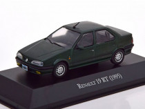 Macheta Renault 19 RT 1995 verde - Altaya 1/43
