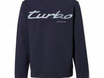 Bluza Oe Porsche Turbo Albastru Inchis Marime S