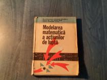 ModelRea matematica a actiunilor de lupta Nicolae Iftimescu