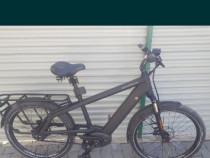 Bicicleta electrica asistată Riese Muller Nuvinci 380 curea