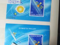 Lot colite nestamp. întoarcerea cometei Halley