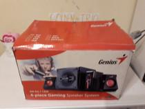System Genius subwoofer+amplif+2 boxe NOU***