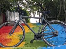 Bicicleta Cursiera 28 single speed fixie gravel