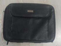 Geanta laptop impecabila piele neagra