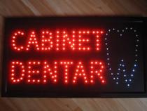 Panou/Reclama Luminoasa cu LED 60x33cm Cabinet Dentar-ieftin