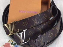 Curele Louis Vuitton unisex,new model/logo metalic