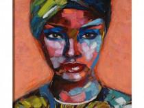 Tablou Decorativ Fata cu Turban