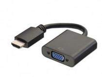 Cablu Adaptor HDMI la VGA cu Cablu Jack 3.5m PRODUS NOU