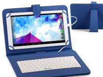 """Husa Tableta Cu Tastatura MRG, Model X, 9.7"""", Micro USB C192"""