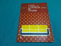 Utilajul și tehnologia lucrărilor de tapițerie / manual școl
