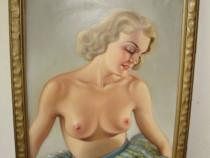 Tablou nud pictor maghiar