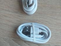 Cablu date USB tip C alb