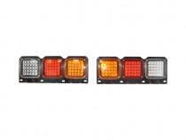 Lampa spate camion cu LED 550x200 12/24V