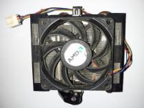 Cooler AMD AM2, AM2+, AM3, AM3+ heatpipes cupru, 4-pin