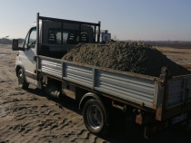 Nisip, pământ de gazon hamuca, carbune brichete,moloz
