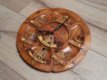 Ceas din lemn obiective turistice Paris