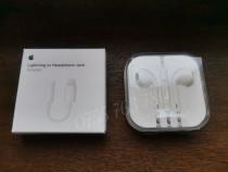 Căști iPhone + adaptor căști