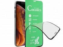 IPhone 11 12 MINI PRO MAX Folie Ceramica Flexibila Curbata