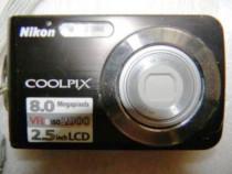Cam.Foto  Nikon coolpix,ultraslim,incutie,bonus,ev.ramburs