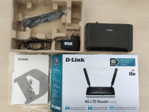 Router 4G (suport SIM card) wireless D-Link DWR-921