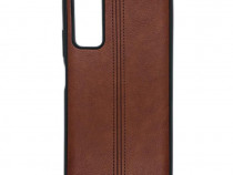 Husa Telefon Silicon Huawei P Smart 2021 Brown Leather