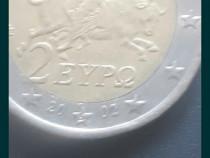 Moneda 2 euro grecia