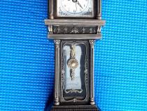 Ceas de masa muzical, Antique Bronze, nou, quartz, 38 cm