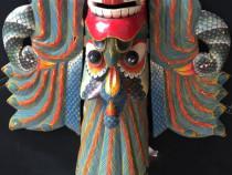 Masca lemn veche india