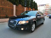 Audi A4 2.0 TDi 140 Cp 2007 Albastru 187500 Km Carte Service