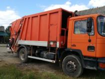 Gunoiera - masina de gunoi MAN