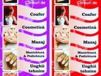 Curs Cosmetica Acreditat de Ministerul Muncii