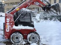 Miniincarcator Gehl Bobcat schimb cu miniexcavator