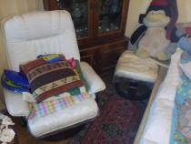 Scaun pentru Masaj din Piele Profesional