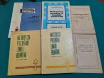 Lot 6 cărți pedagogie: metodica predării limbii române