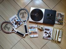 Wii: Seturi biliard, Dj Hero, Racket Sports Party, tenis,