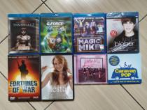 Filme, muzica, BluRay & DVD - unele noi, sigilate! Pret lot!