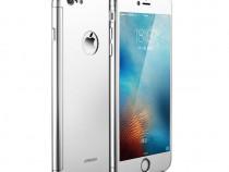 Husa Fullcover iPhone 7 Plus iPhone 8 Plus Silver 360° Joyro