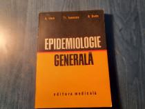 Epidemiologie generala A. Ivan Tr. Ionescu R Duda