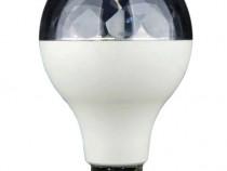 Bec led disco rotatitv, RGB - dulie normala E27 - Nou