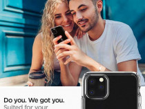Husa Slim 1 mm pentru iPhone 11 Pro Max transparent
