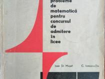I.Musat - Exercitii si probleme de matematica admitere licee