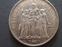 Moneda argint 10 Franci Franta 1970