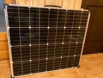 Valiza solara 160W, gama premium
