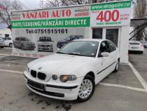 BMW Seria 3,Xenon,1.8Benzina,2002,Finantare Rate