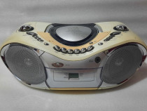 Radio Casetofon portabil cu CD Player Goodmans GPS160R