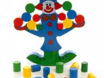 Clovnul in echilibru - Joc de indemanare pentru copii