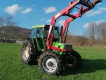 Tractor Deutz Fahr DX 4.50 cu incarcator frontal 4x4
